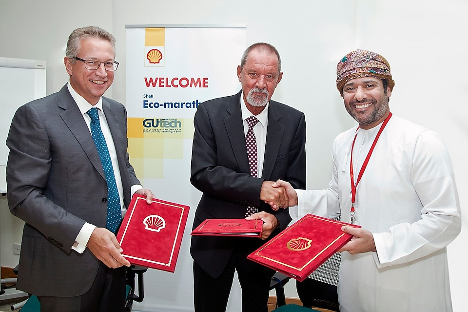 Shell Oman and German University of Technology sign Shell Eco-marathon Agreement