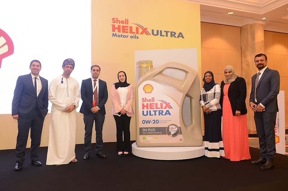 Shell Oman unveils new motor oil