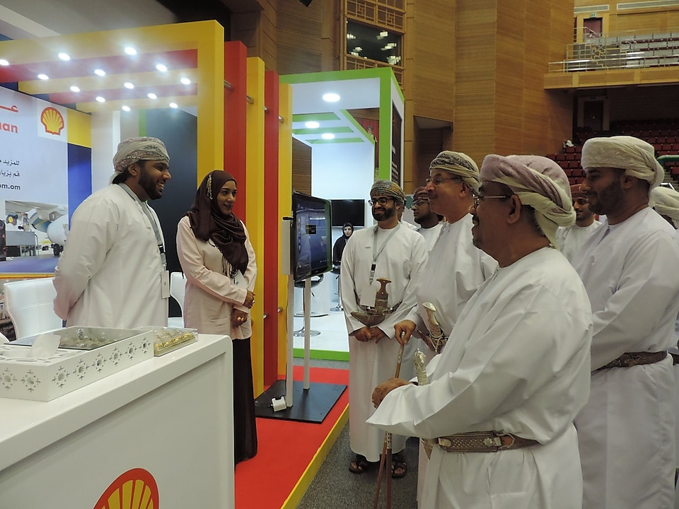 Shell Oman supports the SQU Career and Training Fair 2017
