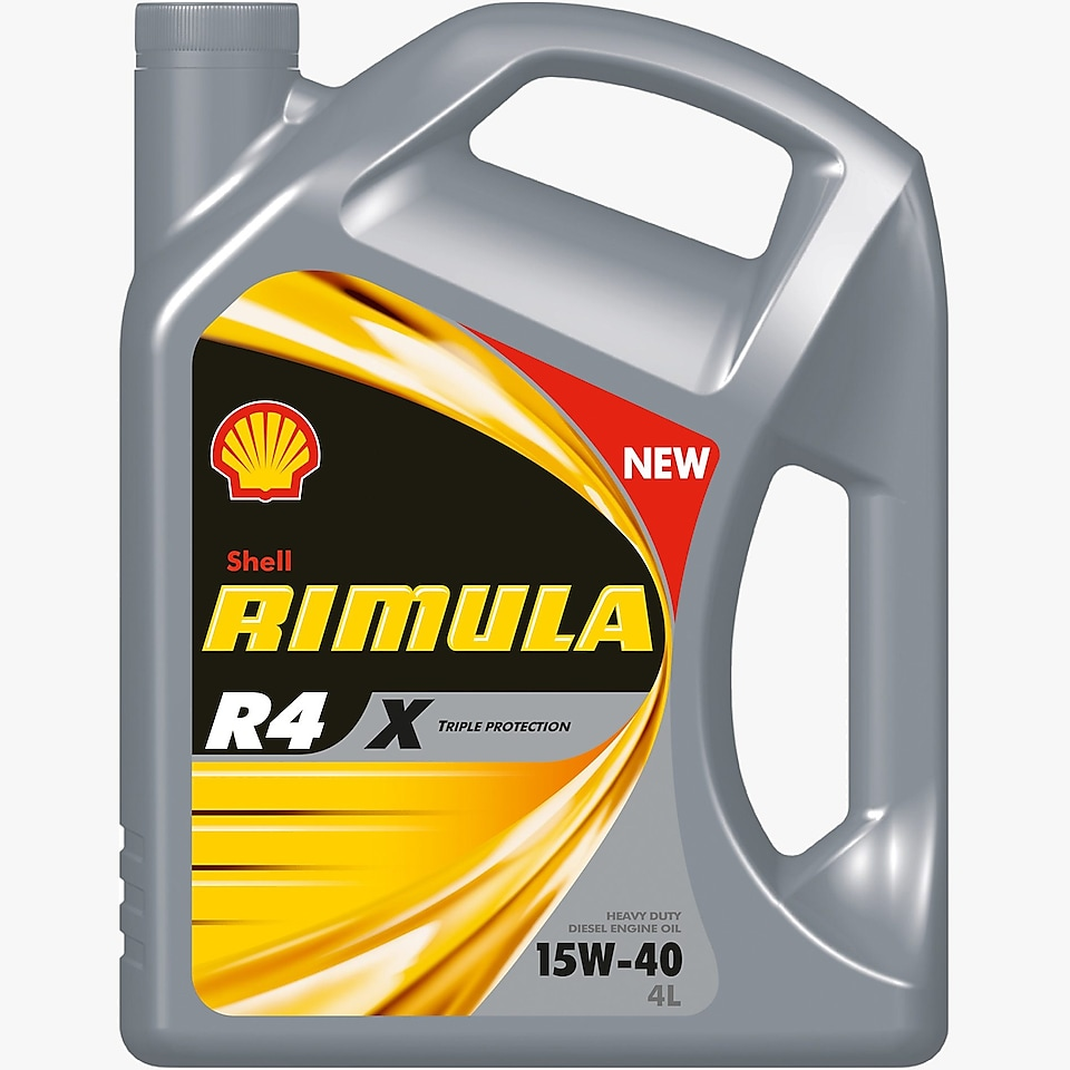 Shell Rimula R4 X pack shot